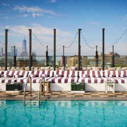 The Cowshed spa at New York's Soho House