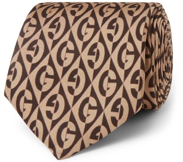 Gucci tie, £145, mrporter.com