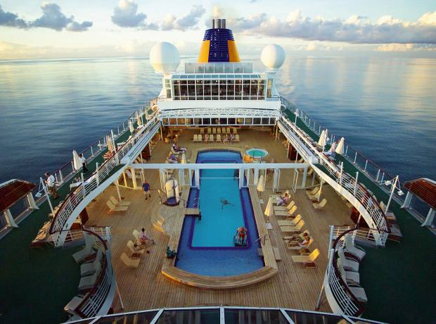 Hapag-Lloyd's MS Europa has a 20m saltwater pool.