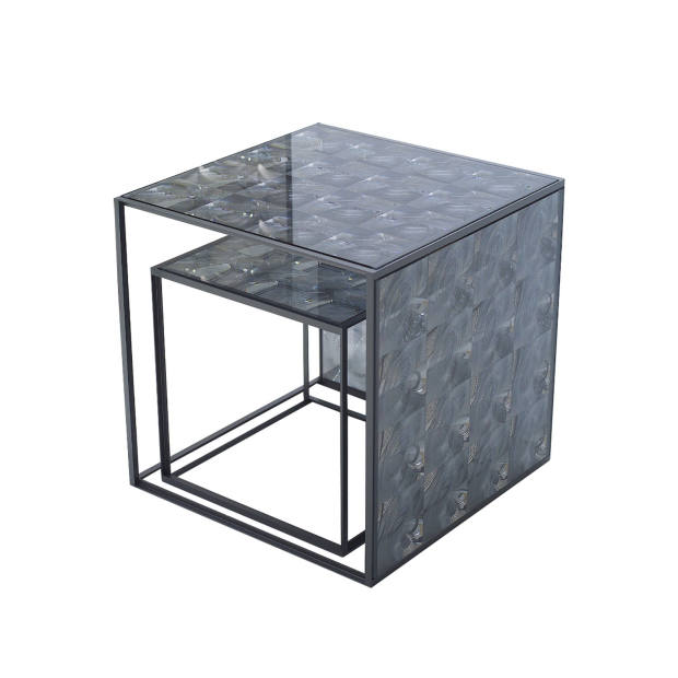 Lens tables by B&B Italia, from £438.