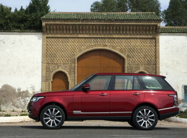 The Range Rover Autobiography model has 18,000 potential customisation options