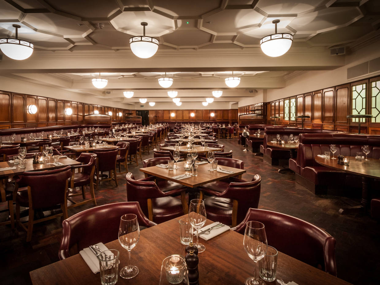The Hawksmoor Guildhall in the City of London is the venue for the dinner