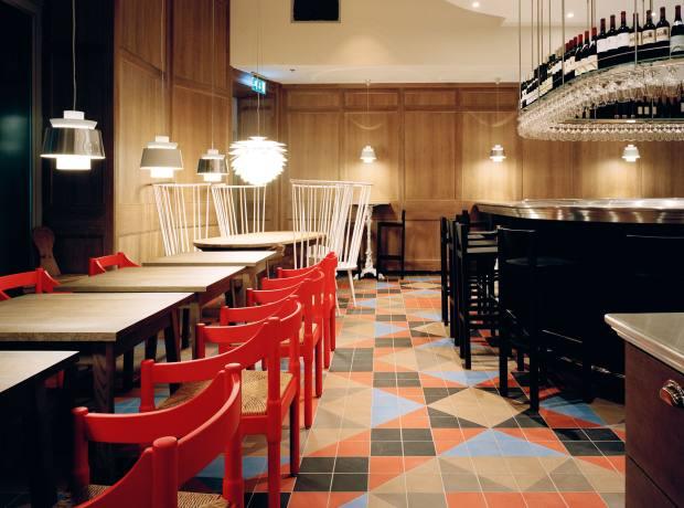 The Mathias Dahlgren restaurant at the Grand Hôtel.