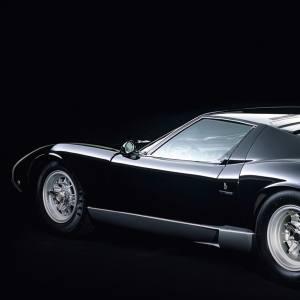 A custom-built 1973 Miura SV.