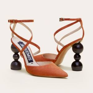 Jacquemus leather and wood Camil heels, £447