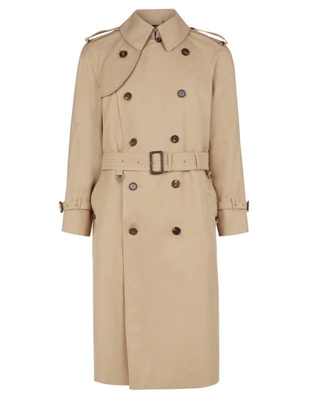 Aquascutum polyester/cotton Bogart trench, £850