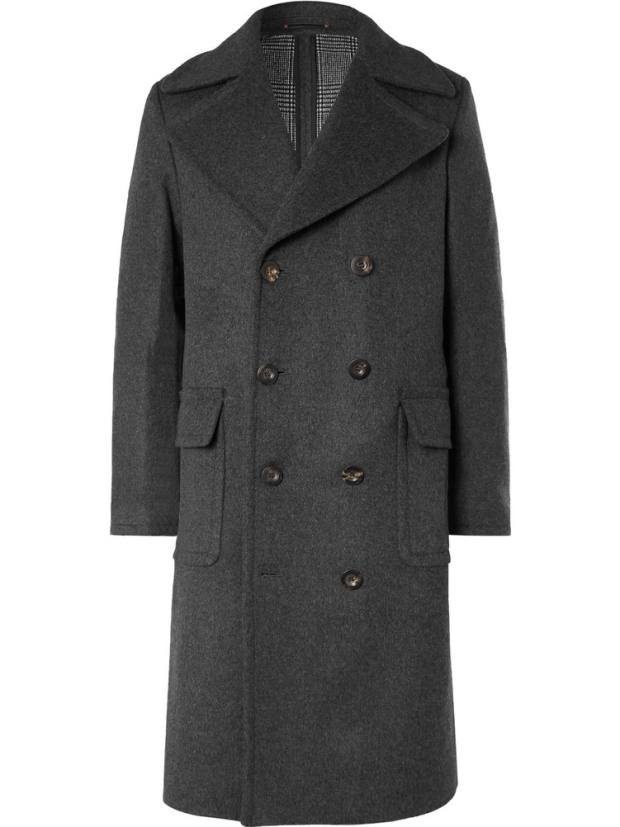 Private White VC cashmere/wool coat, £1,295, from mrporter.com