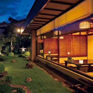 The restaurant at Kifu no Sato, Japan