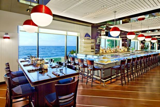 The Seafood Bar at The Breakers resort, Palm Beach