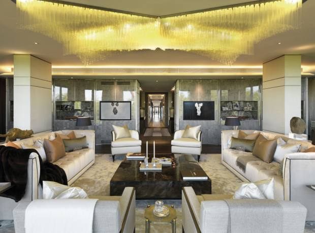 Five-bedroom apartment at One Hyde Park, London