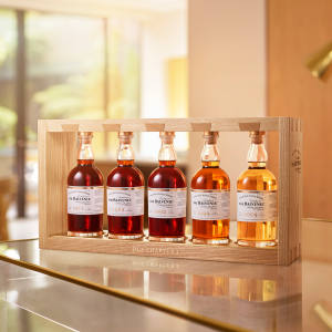 """The Balvenie DCS Compendium Chapter Four"", a collection of five rare whiskies dating from 1971 to 2009 that celebrate the career of David C Stewart MBE, who has been the distillery's malt master for 56 years"