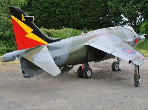 A more-than-2,000-hour rebuild has left the Harrier with a sweetly running Rolls-Royce Pegasus engine and a fresh coat of paint