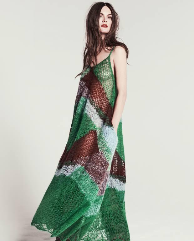 Jil Sander mohair dress,£1,020