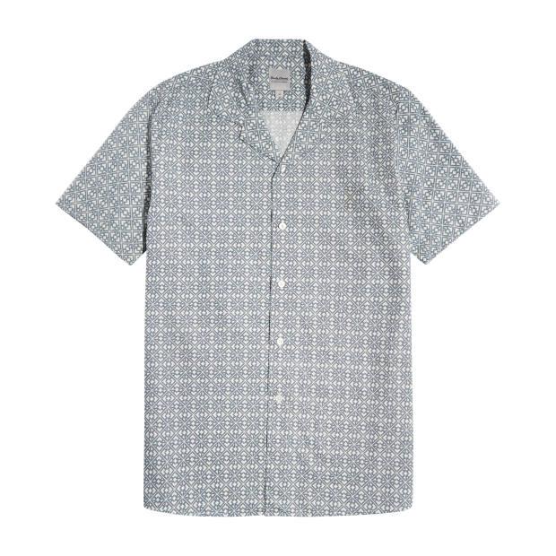 Hardy Amies cotton chambray shirt, £195