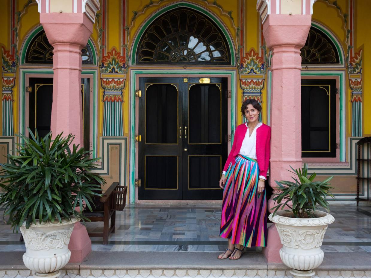 Marie Helene De Taillac On Jaipur S Shopping Gems How To