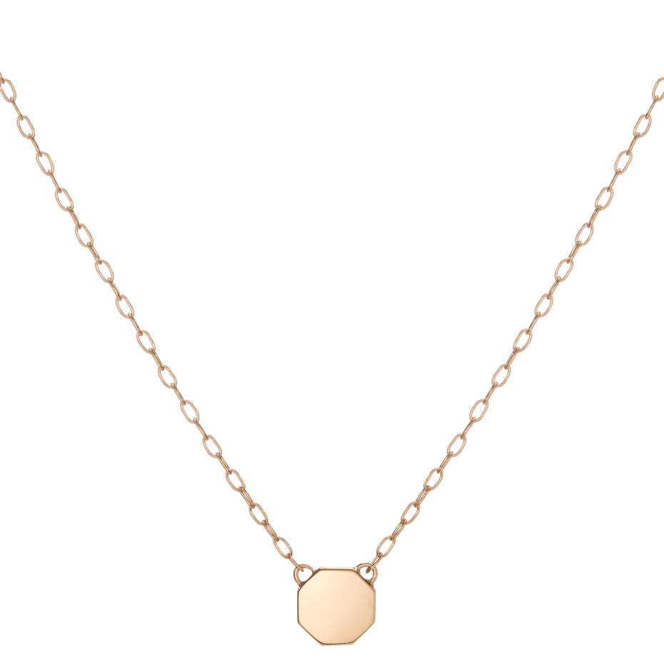 Gold Mini STOP Pendant, from $400; all proceeds go to Everytown for GunSafety
