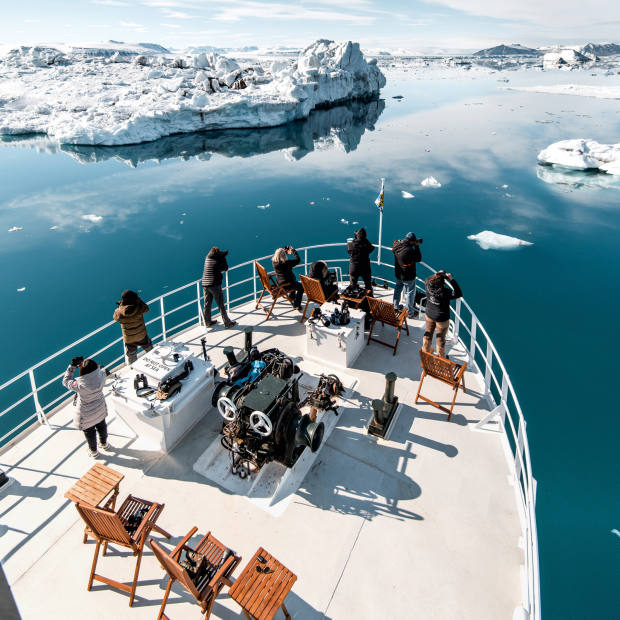 The first of Natural World Safari's conservation-led Expeditions for Change will be a 12-person, 10-day voyage to Svalbard