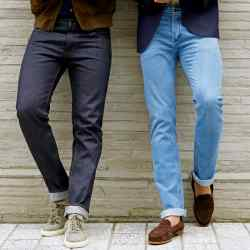 Thom Sweeney jeans, from £395