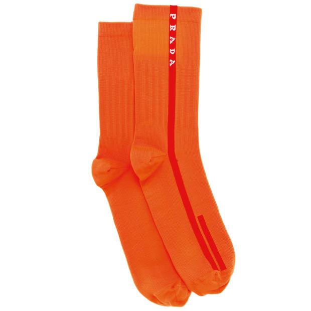 Prada Linea Rossa socks, £140