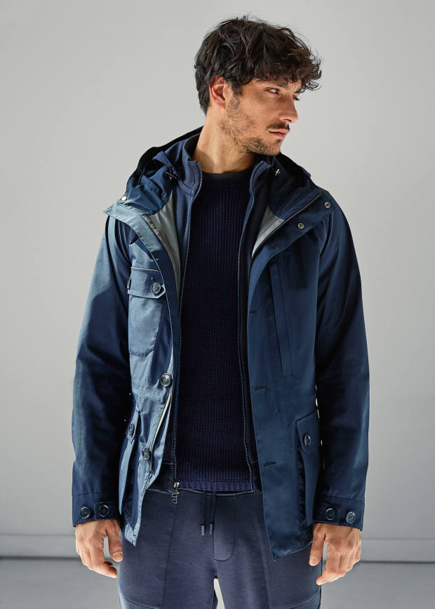Woolrich polyester Gore-Tex Summer Mountain jacket, £495