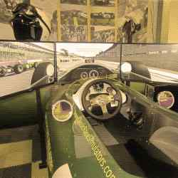 The Lotus-themed Classic Race Simulators car, £5,950 including technology