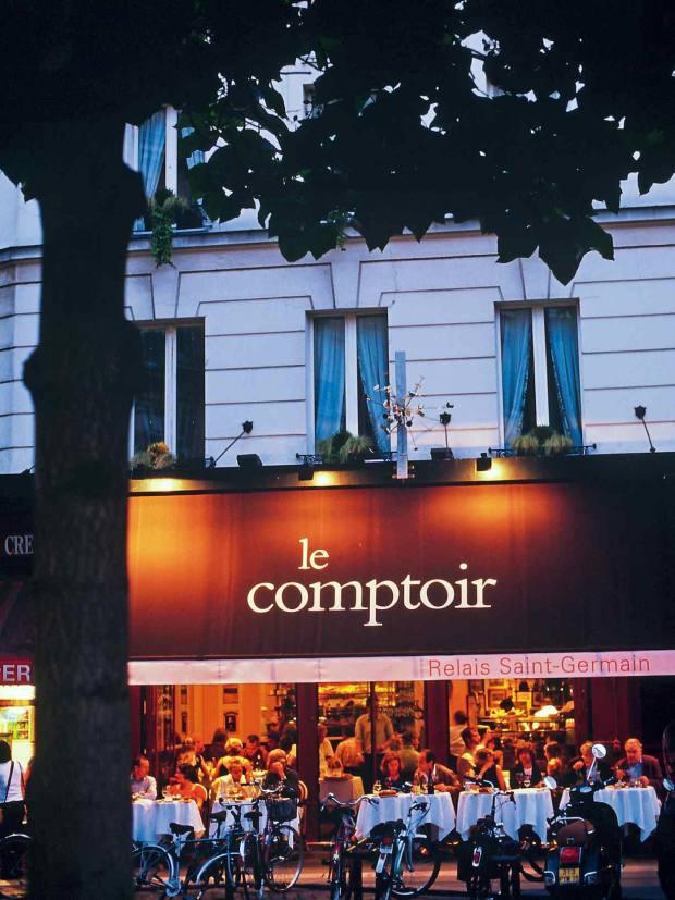 Le Comptoir du Relais Saint-Germain serves high-class food in a buzzy, intimate setting on the Left Bank