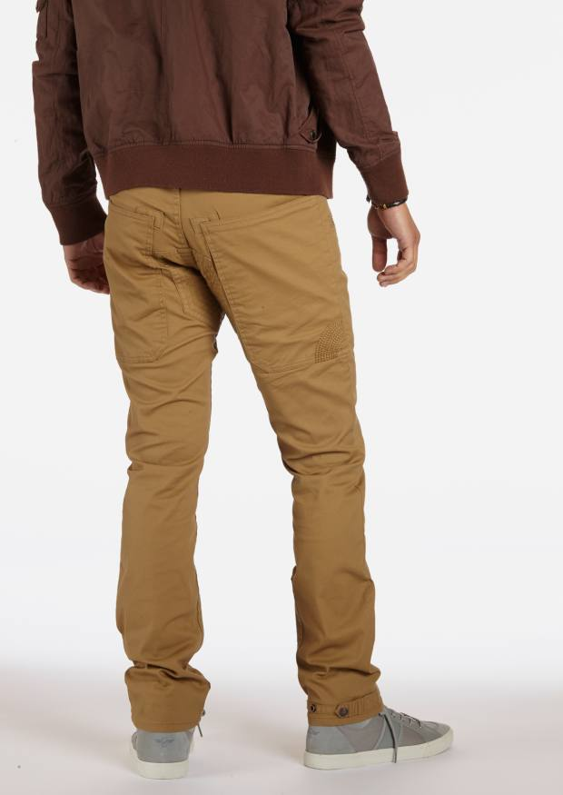 Khaki cavalry twill trousers in the Crank (relaxed) style, £110.63