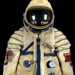 Alexei Leonov's 1975 ASTP space suit, sold by Bonhams for $242,000