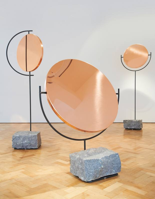 Hunting & Narud copper mirrors, from £5,700