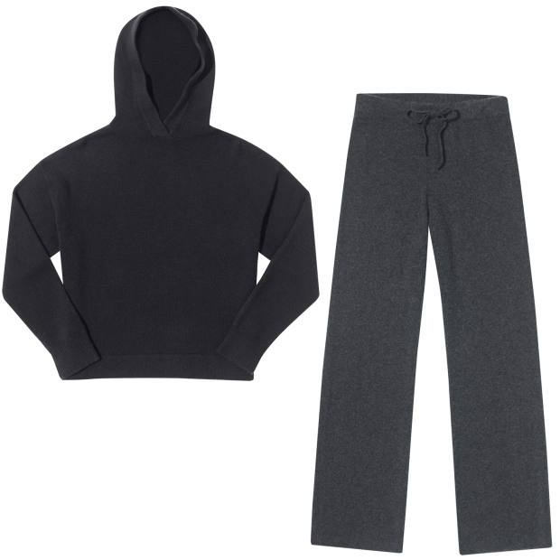 Ven Store hoodie, £190, and trousers, £160