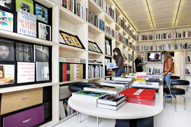 Ivorypress art and design bookshop is a favourite of JW Anderson