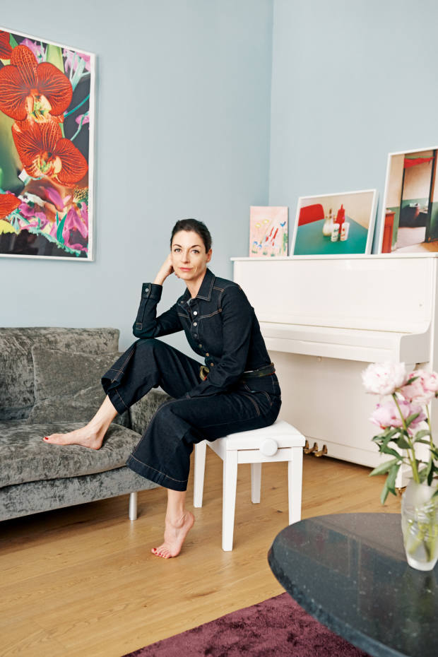 Mary McCartney at home in London