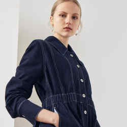 Kowtow denim jacket, £243