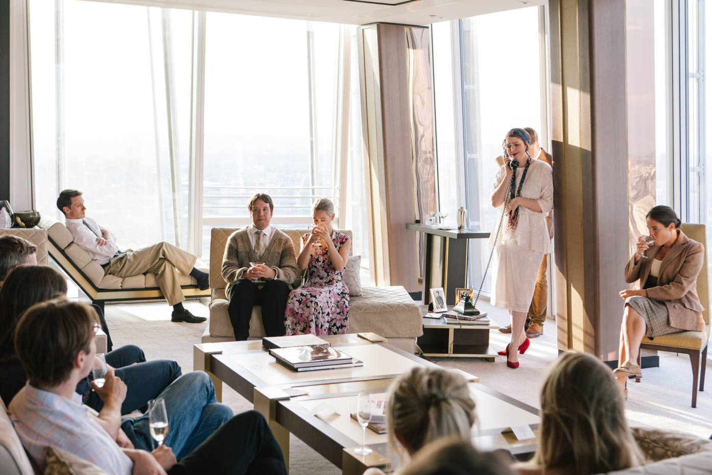 The Revels in Hand productions at the Shangri-La at the Shard will feature actors Mark Donald, Henry Gilbert, Greer Dale-Foulkes, Melanie Fullbrook and Lucy Eaton