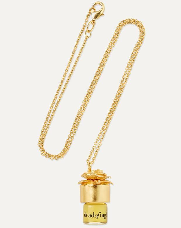 Strangelove NYC gold necklace, £195, net-a-porter.com