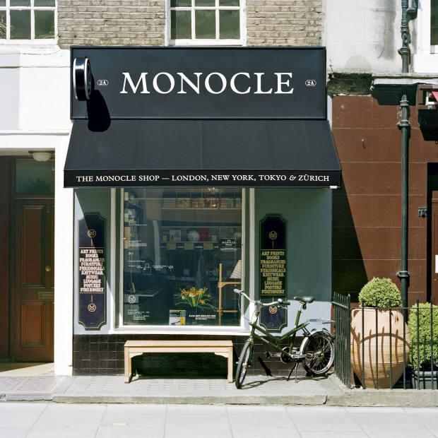 The Monocle shop, London
