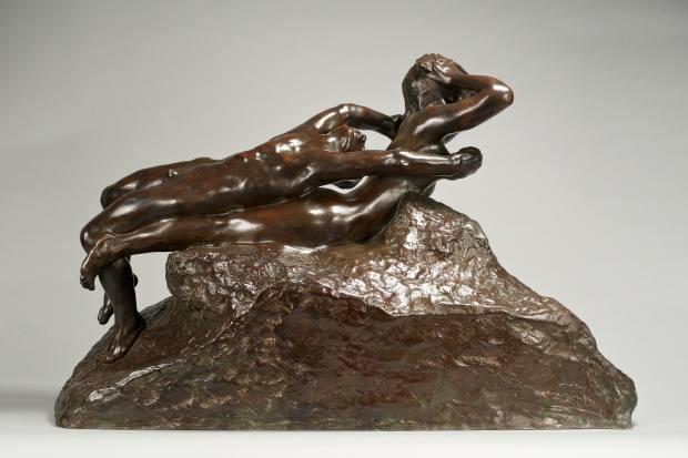 Fugit Amor, Grand Modèle, second version, by Rodin