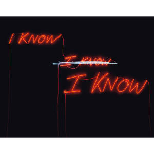 I KNOW I KNOW I KNOW by Tracey Emin, estimated at £40,000-£60,000