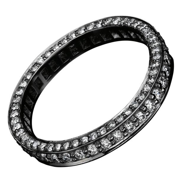 Harris's skinny diamond eternity ring by Solange Azagury-Partridge