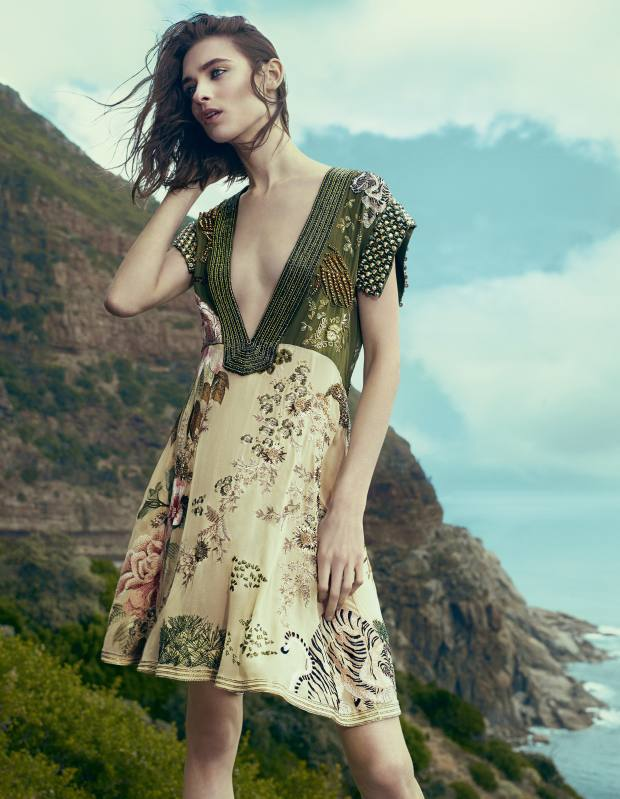 Gucci silk dress with crystal embroidery, £8,640