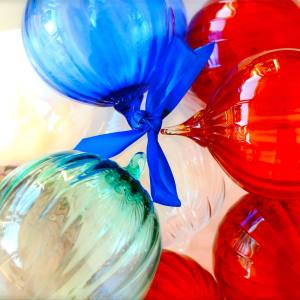 Gilmore Glass Christmas tree ornaments, from $25 to $80 each