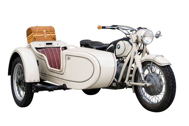 1952 R60/2 and Steib sidecar, sold for $17,550 at Bonhams