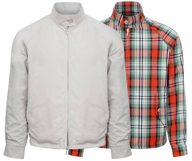 Drake's cotton Harrington jacket, £495