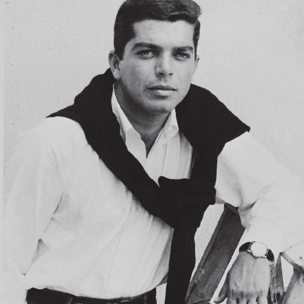 A young Ralph Lauren in an unidentified watch