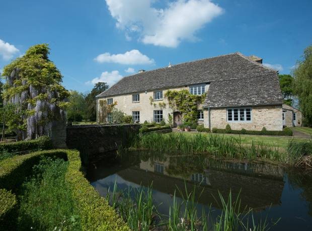 House, a six-bedroom 15th-century Grade II-listed house in Standlake, Witney, Oxfordshire, £4.95m through John D Wood & Co