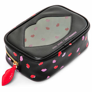 The limited edition Bobbi Brown x Lulu Guinness make-up bag, £35