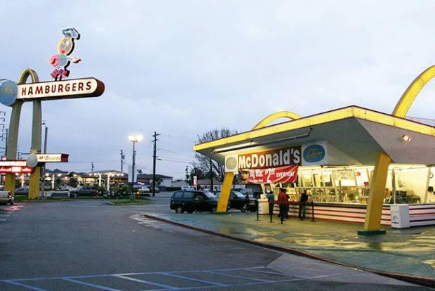 McDonald's, Lakewood Boulevard, California