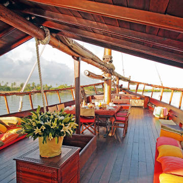 Kenya's prettiest dhow, Tusitiri, is back on the charter circuit with an updated interior