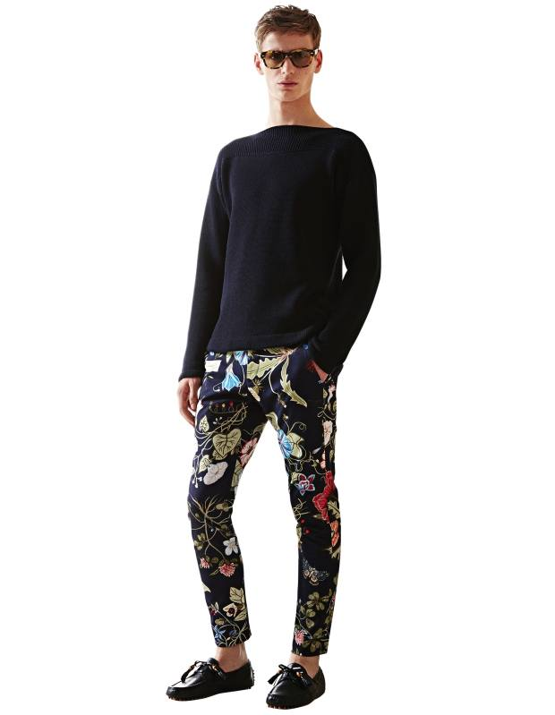 Gucci gabardine trousers, £470