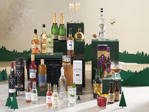 Harvey Nichols The Drinks Cabinet Hamper, £500